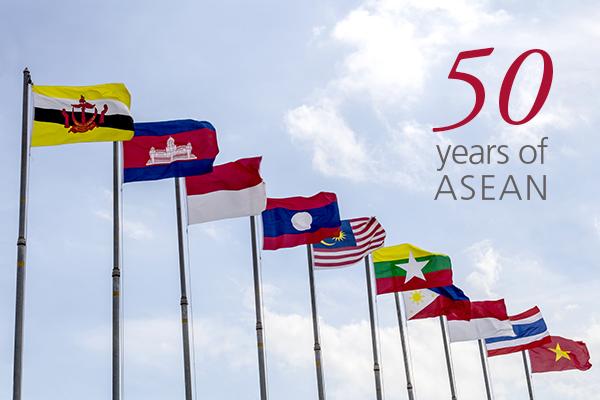 ASEAN wird 50: Wie DKSH zur südostasiatischen Erfolgsgeschichte beigetragen hat