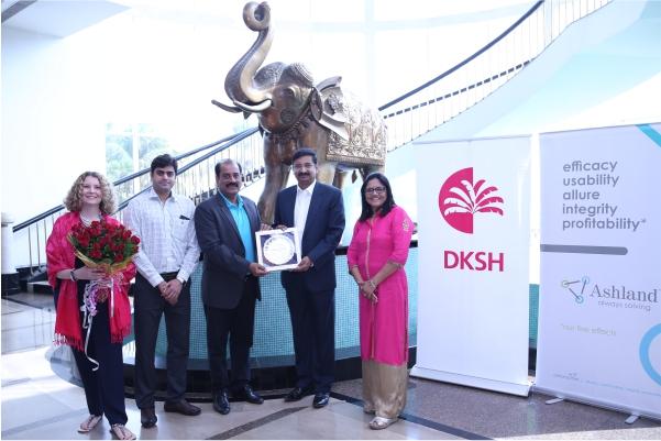 "DKSH India wins Ashland ""Best Channel Partner"" award for Rest of Asia region"