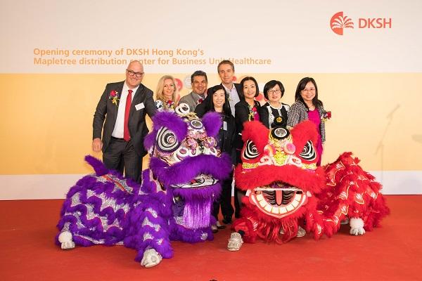 DKSH opens next generation healthcare distribution center in Hong Kong