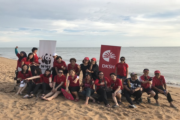 DKSH joins WWF-Malaysia in marine turtle conservation