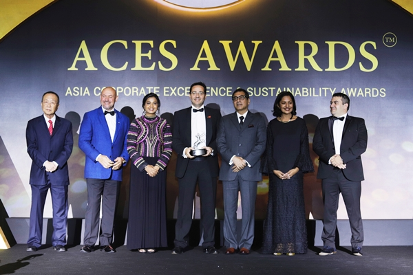 """DKSH Vietnam named """"Industry Champion of the Year"""" at the ACES Awards"""