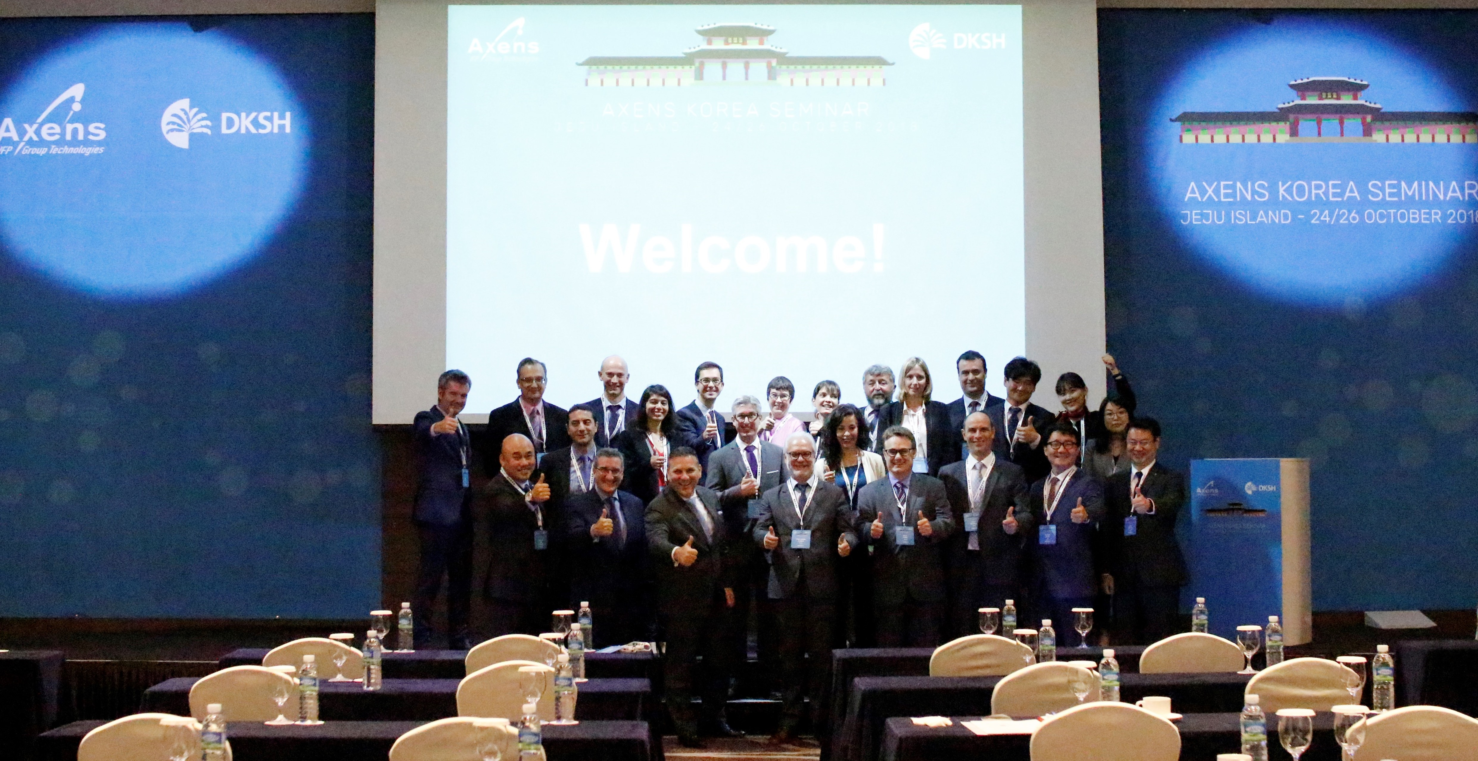 DKSH and Axens celebrate twelve successful years of partnership in Korea at third joint seminar