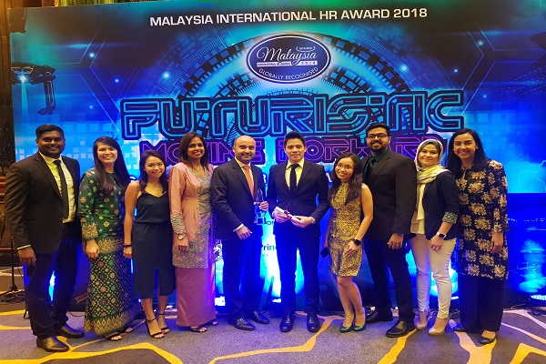 DKSH wins gold at Malaysia-International HR Awards 2018