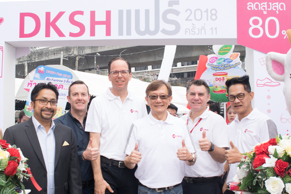 Ringing in the festive season with the annual shopping extravaganza at DKSH Fair 2018