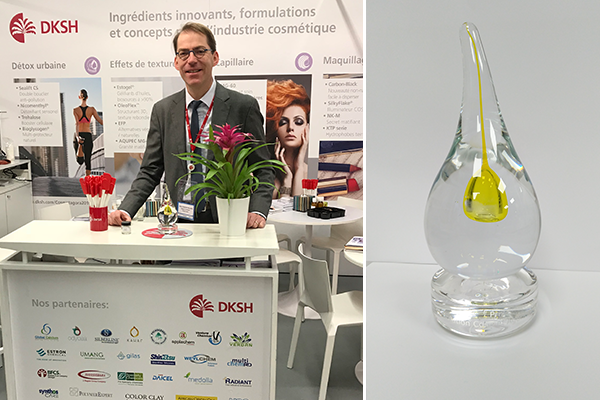 DKSH France wins Silver Innovation Award at Cosmet'Agora 2019