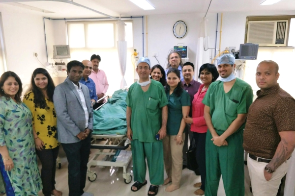 DKSH provides medical aid to community children in India