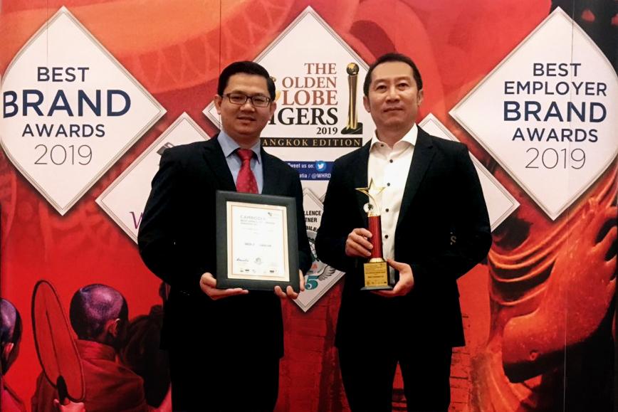 DKSH wins Cambodia Best Employer Brand Award 2019