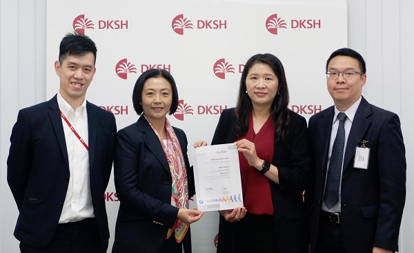 DKSH's healthcare supply chain certified for top security standards by TAPA