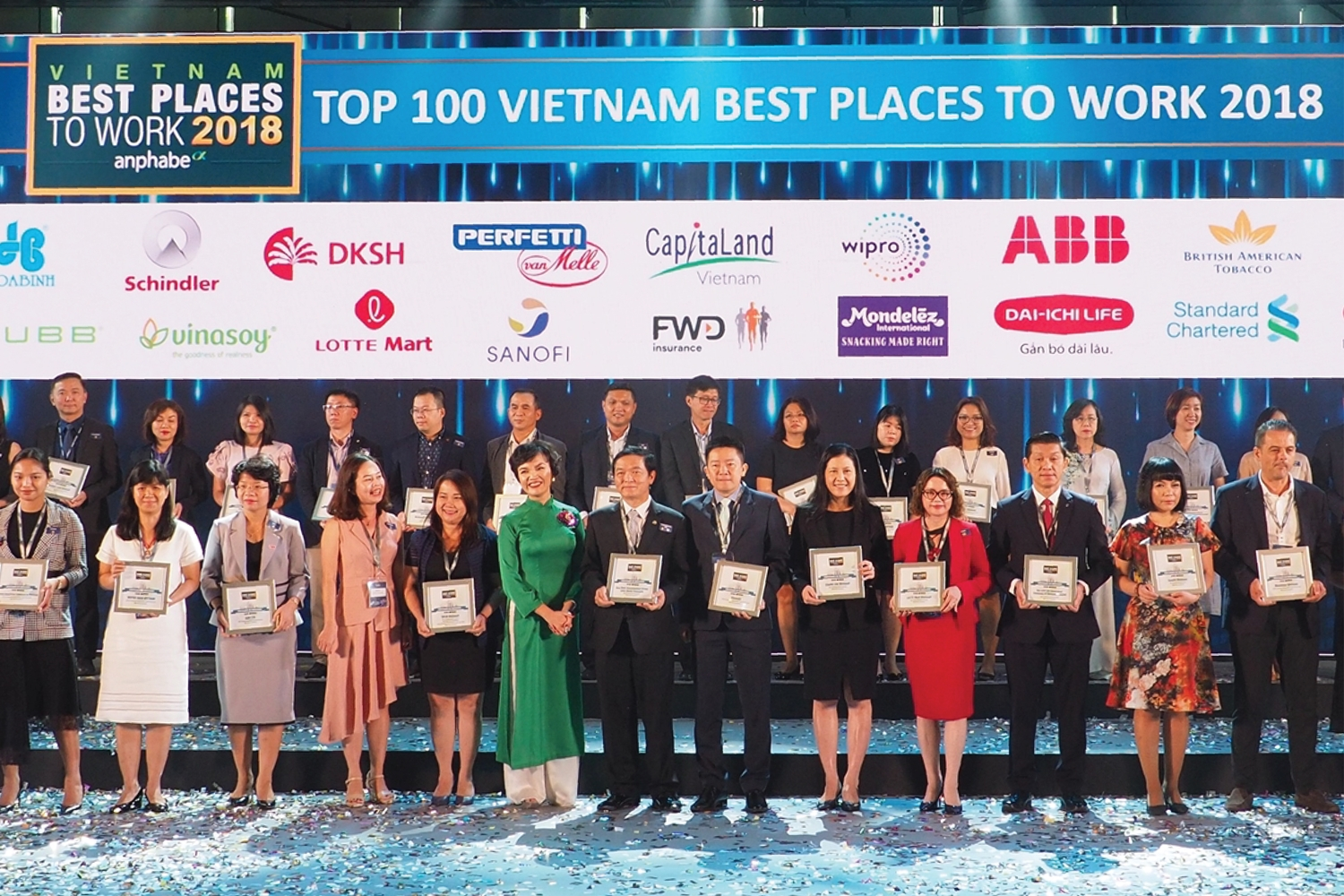 DKSH awarded as one of the best places to work in Vietnam
