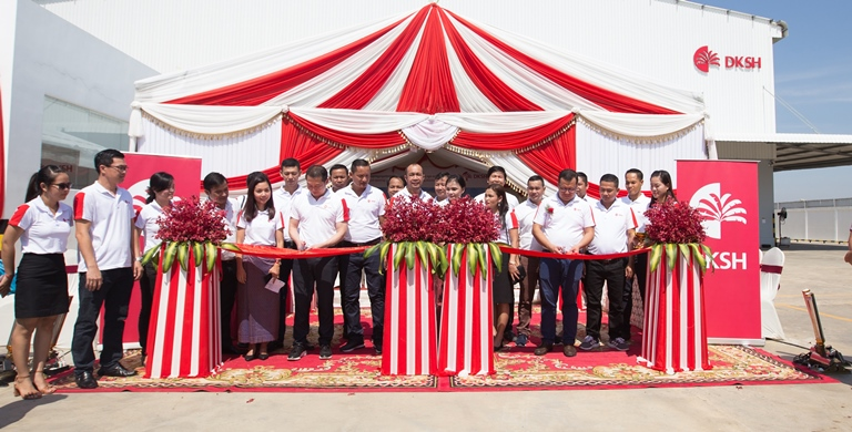 DKSH opens new distribution center in Battambang to expand its footprint in Cambodia