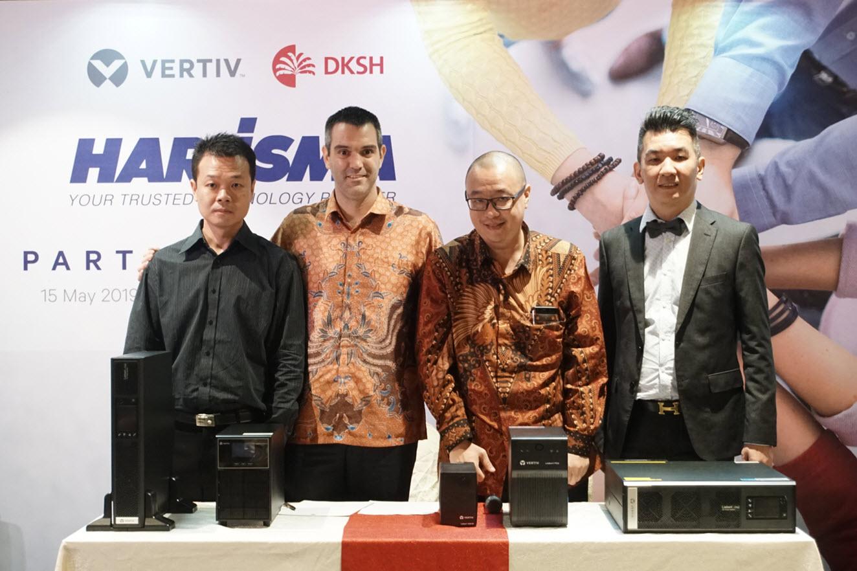 DKSH partners with Harrisma Informatika Jaya to offer Vertiv's uninterruptable power supplies in Indonesia