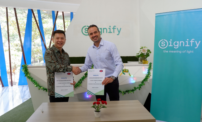 Wicaksana partners with Signify for Philips Lighting products in Eastern Indonesia
