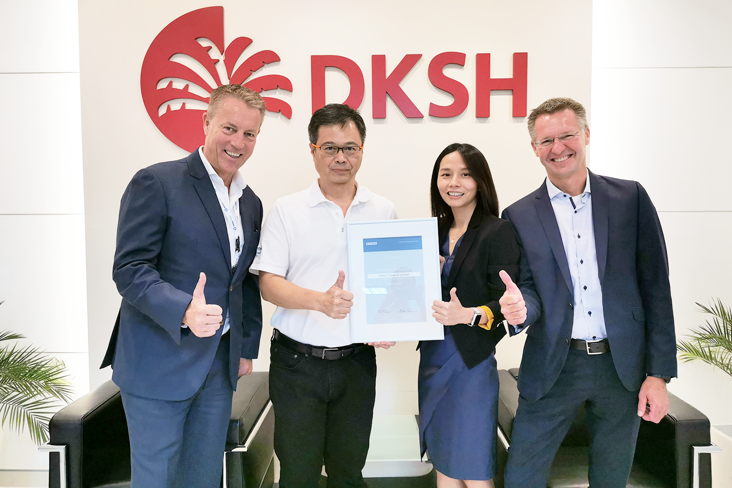"DKSH wins WACKER's ""Distributor of the Year 2018"" award in Malaysia, Thailand and Vietnam"