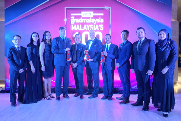DKSH wins at M100 Leading Graduate Employers Awards