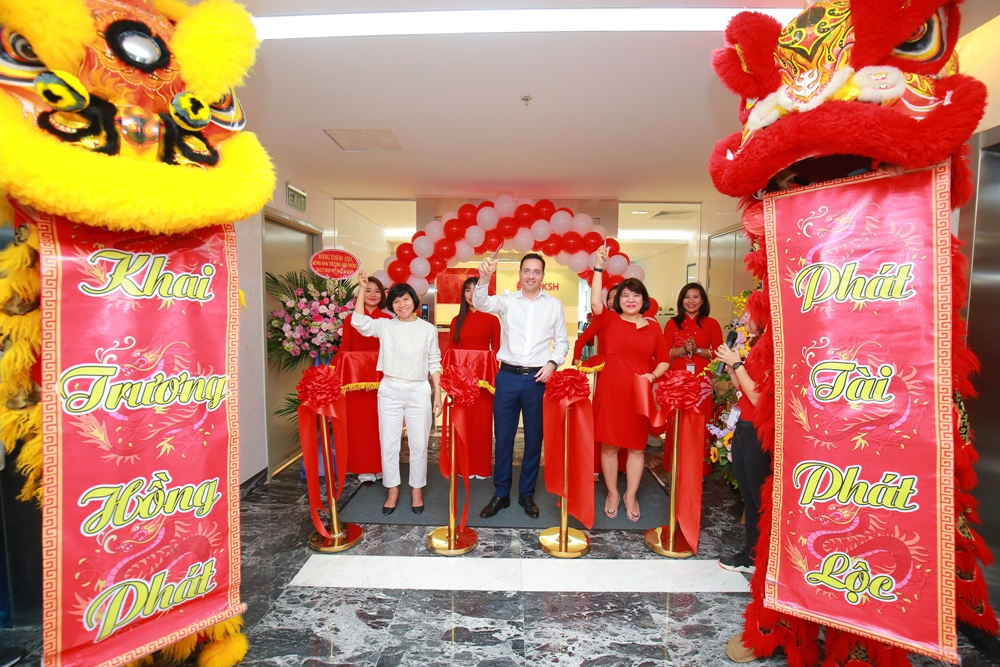 DKSH relocates its branch office in Hanoi