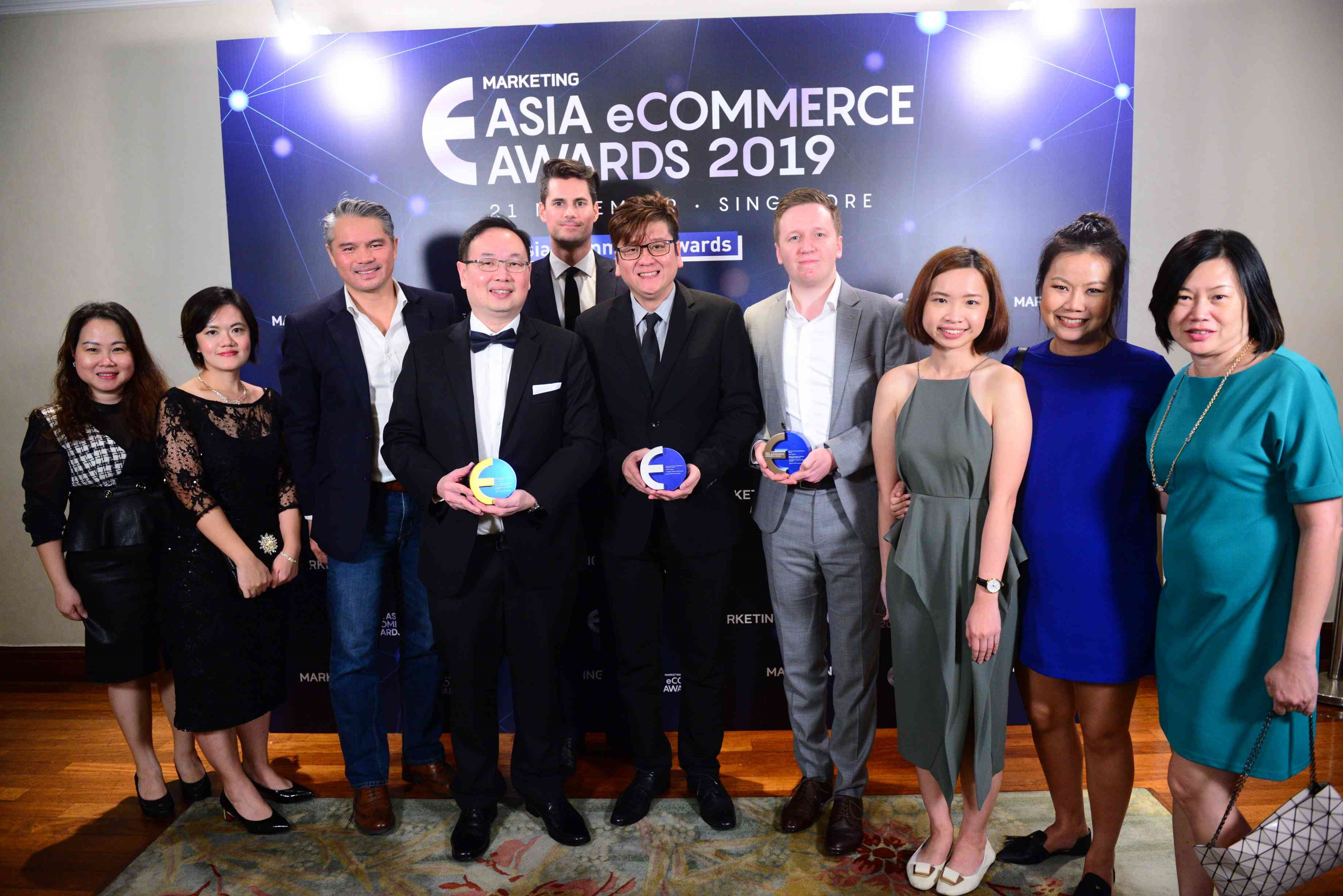 DKSH wins one Gold, two Silver and two Bronze trophies at the 2019 Asia eCommerce Awards