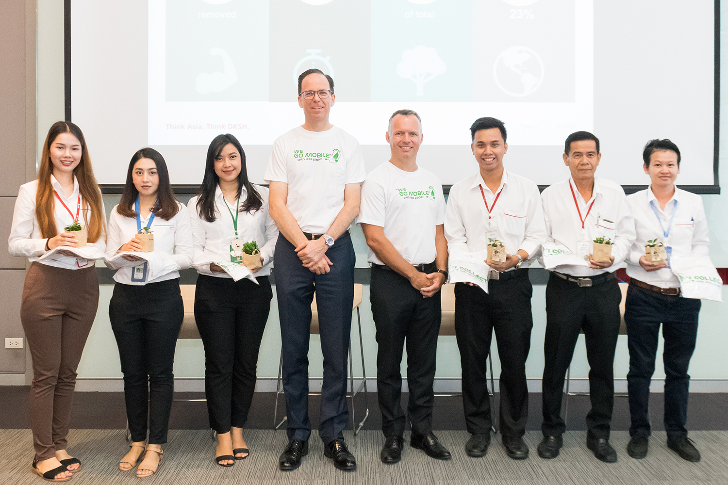 DKSH Thailand goes mobile and saves paper
