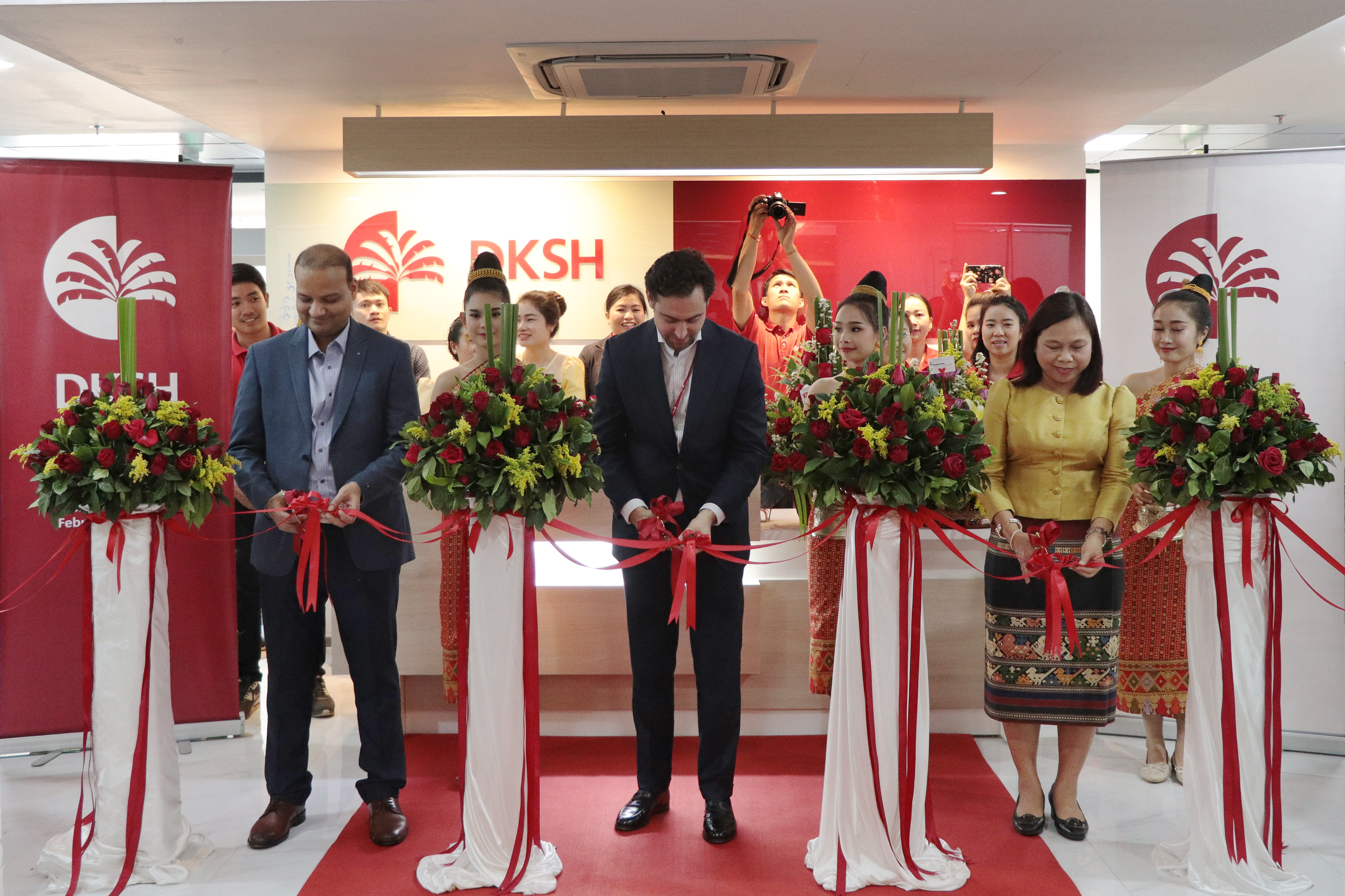 DKSH relocates its branch office in Laos