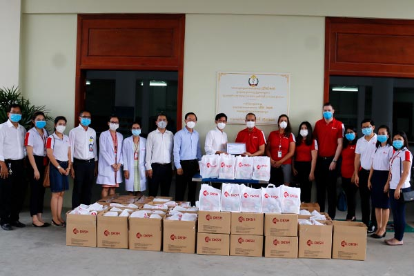 DKSH Cambodia donates essential medical supplies to the Khmer Soviet Friendship Hospital