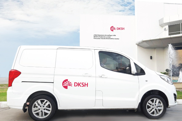 DKSH Thailand partners with Loxley to launch electric van at its distribution center to promote eco-friendly solutions