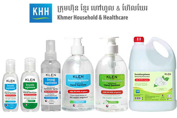 DKSH and Khmer Household & Healthcare partner to distribute hand sanitizers
