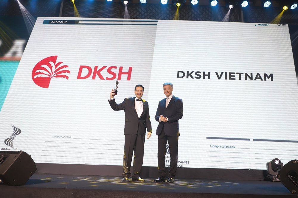 DKSH receives HR Asia Award 2020 for beingone of the best companies to work for in Vietnam