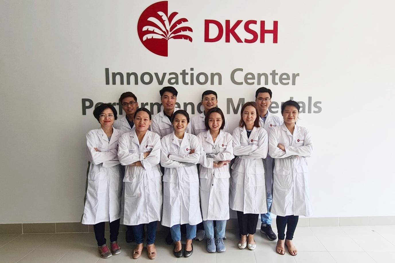 DKSH upgrades its Performance Materials innovation centers in Vietnam