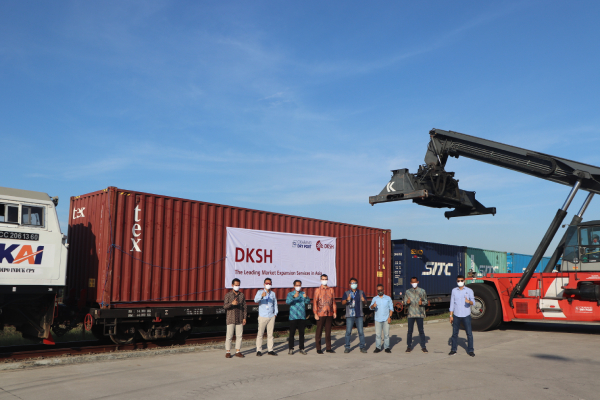 DKSH operates green supply chain with new partner Cikarang Dry Port (CDP) in Indonesia
