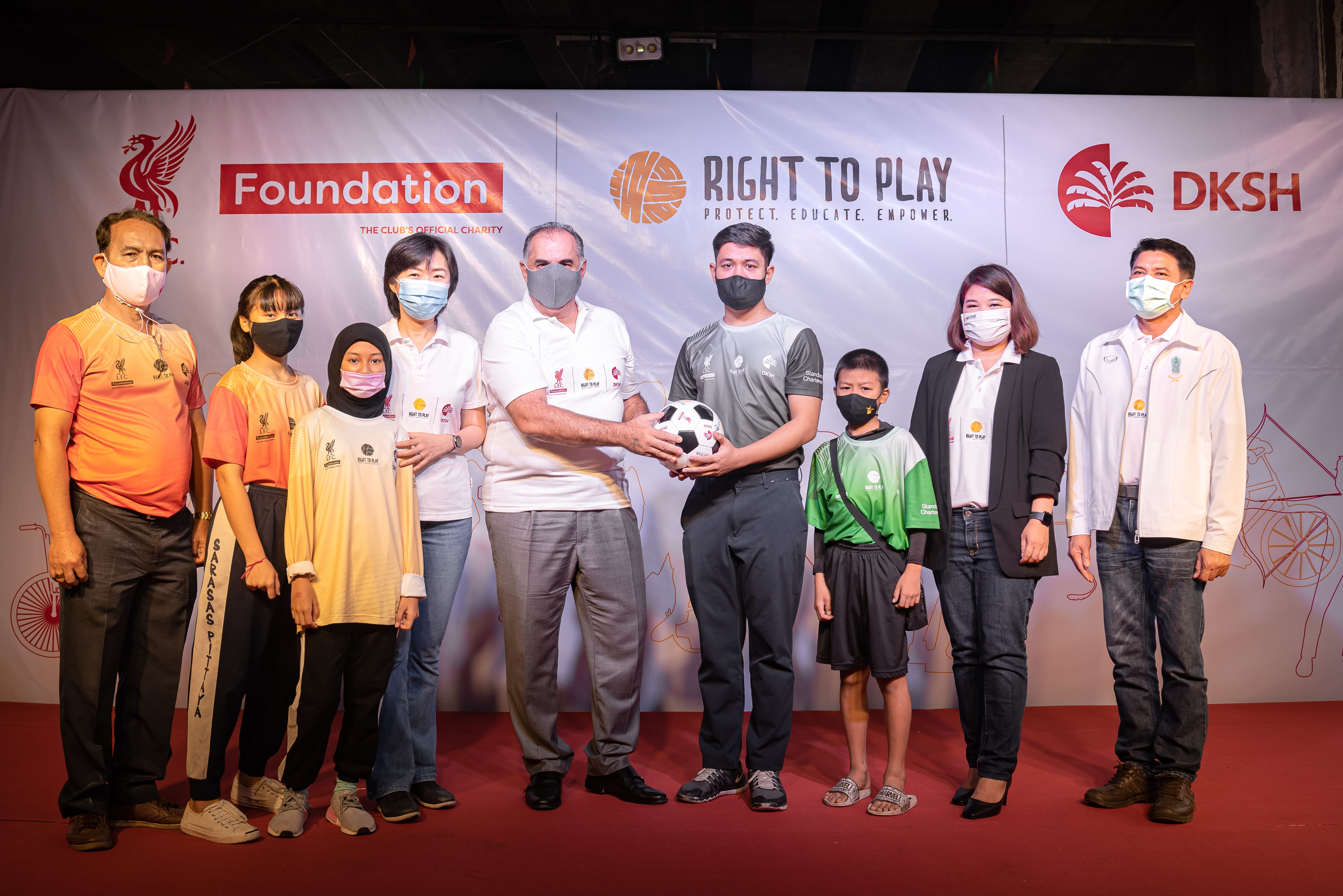 DKSH, Right To Play and Liverpool F.C. Foundation partner to improve life skills for children in Thailand