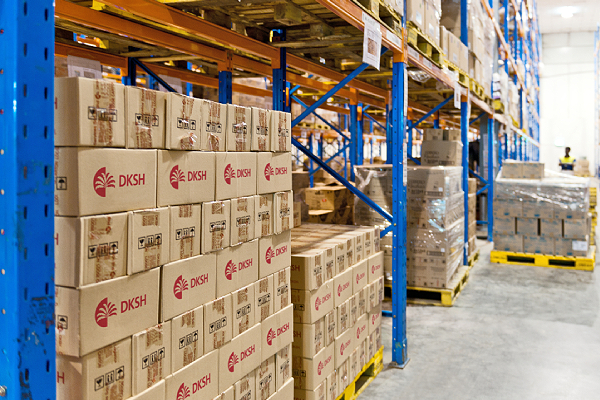 DKSH's newly established distribution centers provide Indonesia with consumer goods during challenging times