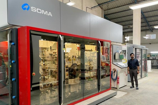 DKSH successfully installs SOMA's innovative flexographic printing press Optima in India