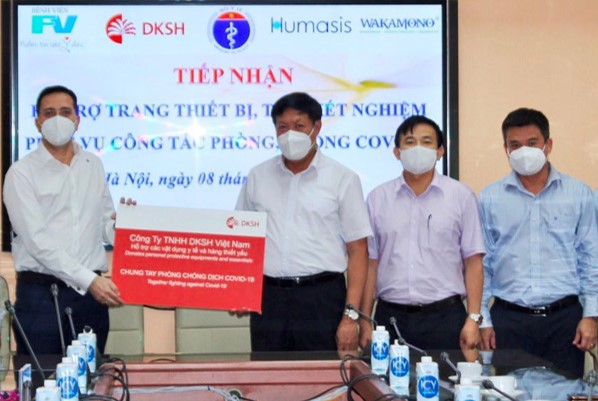 DKSH Commits to Support Vietnam in the Battle Against COVID-19