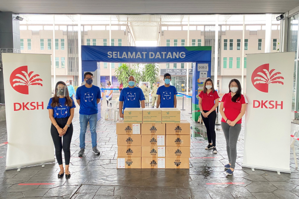 DKSH Donates Medical Consumables to Healtopedia in Support of Malaysia's Immunization Program