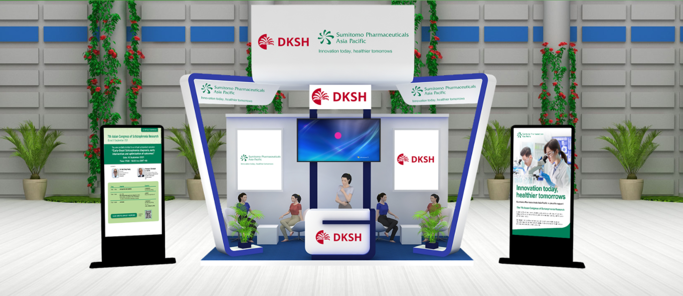 DKSH Hong Kong and Sumitomo Pharmaceuticals Asia Pacific Sponsor The 7th Asian Congress of Schizophrenia Research