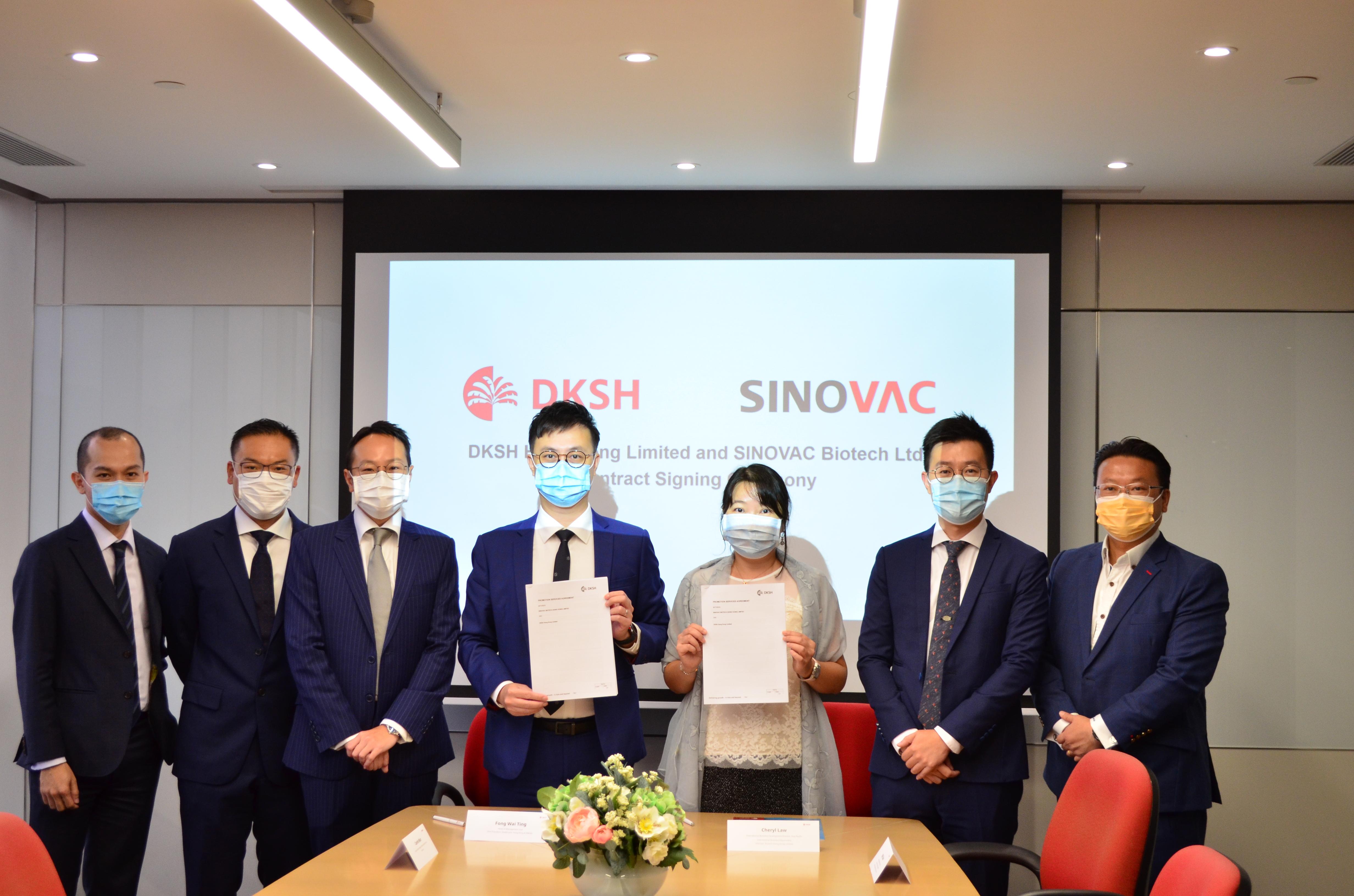DKSH Hong Kong and SINOVAC Sign Partnership to Strengthen CoronaVac®Network in Hong Kong